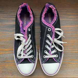 Converse All Star with frayed edges